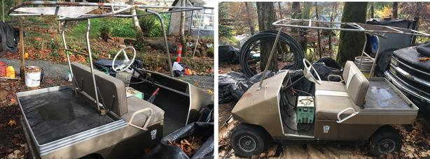 Extremely Rare Golf Cart - Taylor Dunn 1980's - 36V- Vintage Survivor