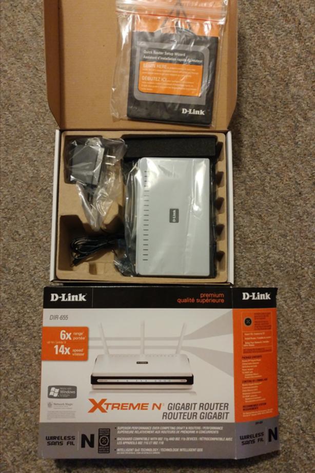 D-Link DIR-655 (gigabit) Router