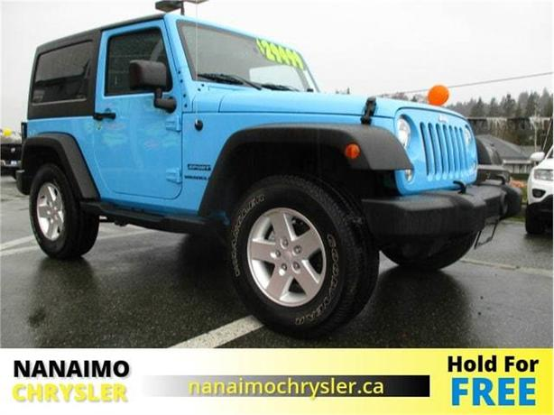 2017 Jeep Wrangler Sport One Owner No Accidents