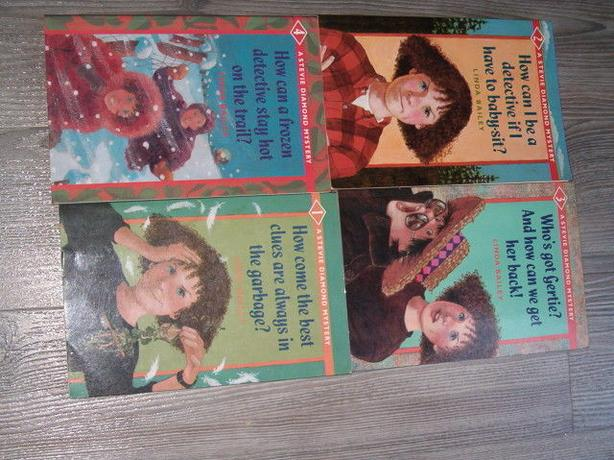 Stevie Diamond mystery four books