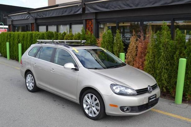 2014 Volkswagen Golf SportWagon TDI // Diesel Gas Savings // Navigation and Back
