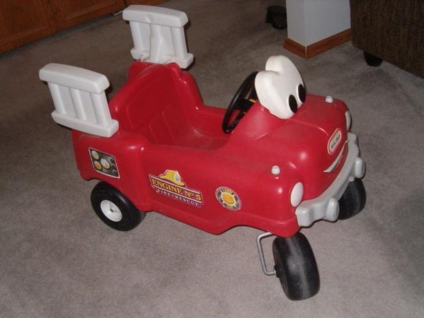 little tikes fire truck ,