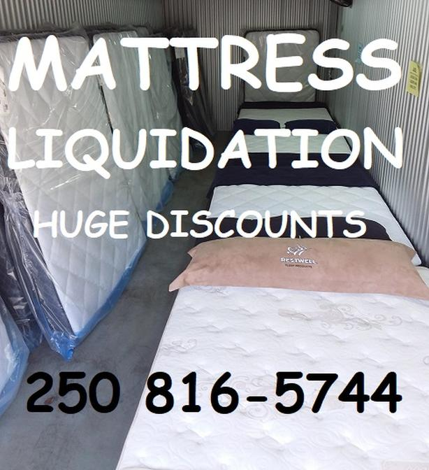 No better time to get a Brand New Mattress. Liquidation sell-off