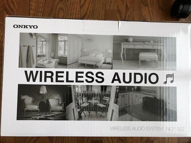 Onkyo NCP-302 White Wireless Audio System With Bluetooth-NEW!!