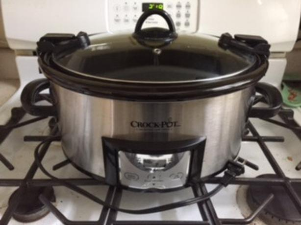 Crock Pot 6 quart Cook & Carry slow cooker
