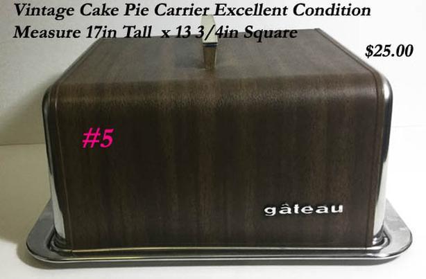 Vintage Cake carrier