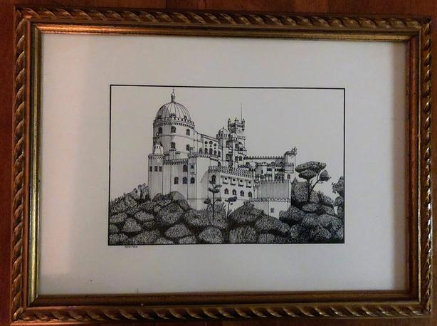 Beautiful Framed Prints From Portugal, Set of 2