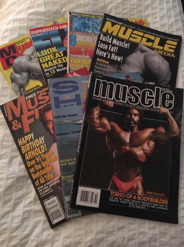 Bodybuilding Magazines