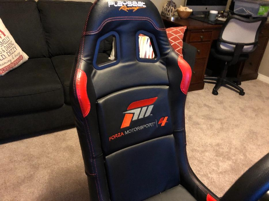 $600 · Thrustmaster T300 and Playseat