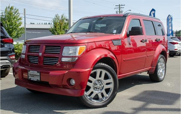 2007 Dodge Nitro RT, DVD, Leather, Heated Seats, Sunroof