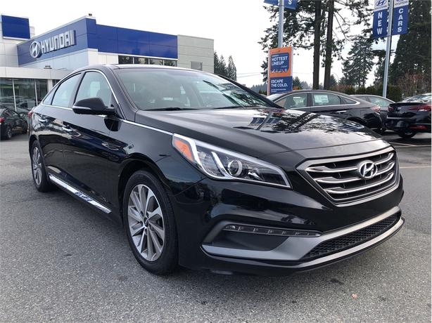 2015 Hyundai Sonata Sport, Heated Leather, Sunroof, Bluetooth