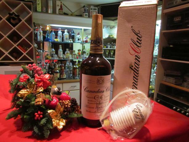 Classic Canadian Club Rye Whisky