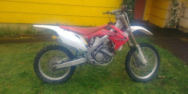 2010 CRF250r