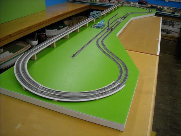 New Custom Built N Scale Model Railroad Layout with Kato Unitrack