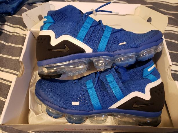"new product 8a9fb 8a9f6 dead stock- vapormax flynit utility ""game royal"" ..."