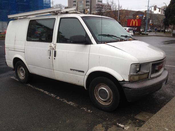 99 Gmc Safari Cargo Van Quick Sale Victoria City Victoria