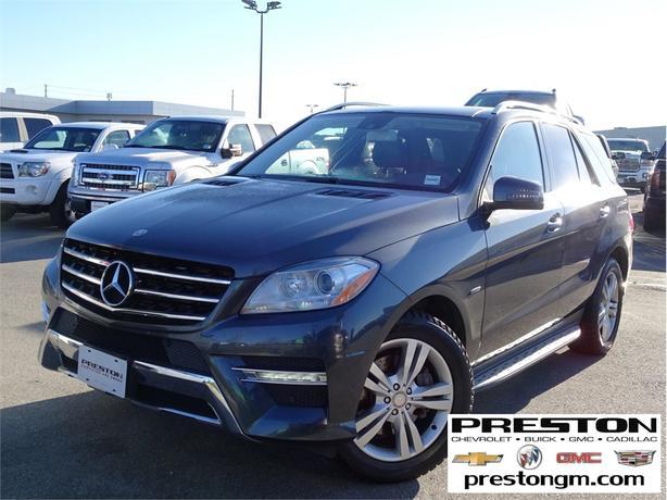 2012 Mercedes-Benz ML350 ML 350 BLUETEC