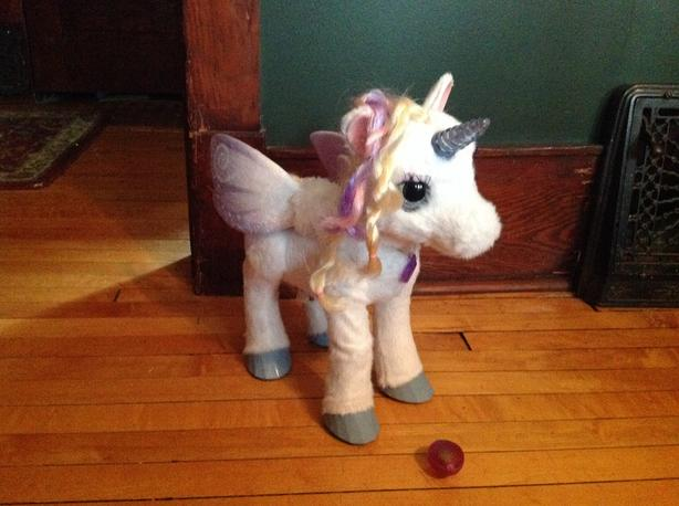Fur real Starlily My Magical Unicorn $50 OBO - Like New