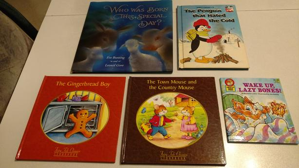 Set of 5 Hardcover Story Books