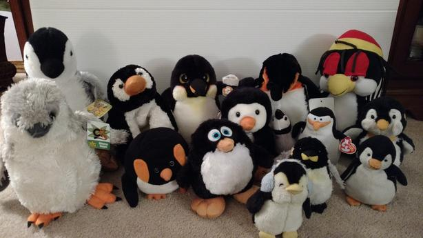Assorted Plush Penguins