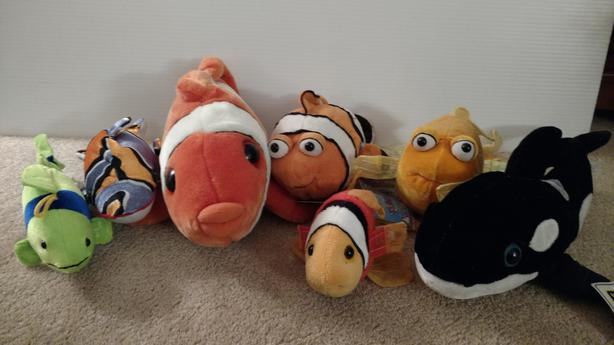 7 Assorted Plush