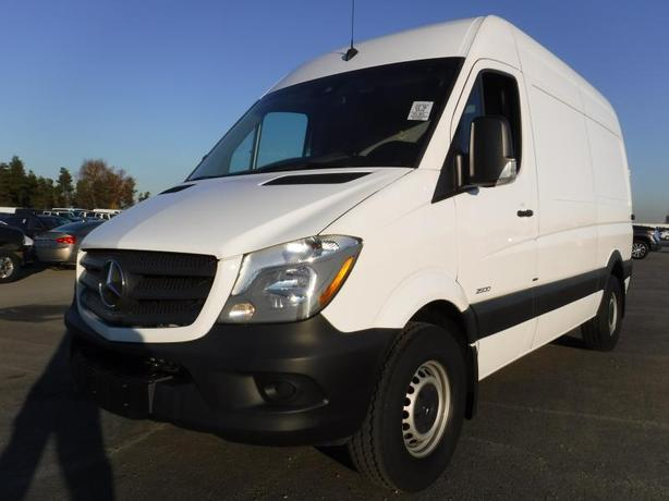 2016 Mercedes-Benz Sprinter Diesel High Roof 2500 Cargo Van 144-in. WB