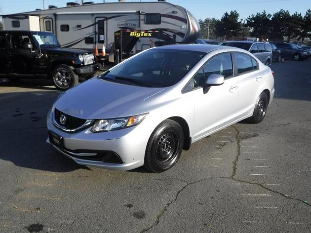 2013 Honda Civic LX Sedan 5-Speed Automatic