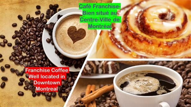 Café Franchise Downtown Montreal CM-1003