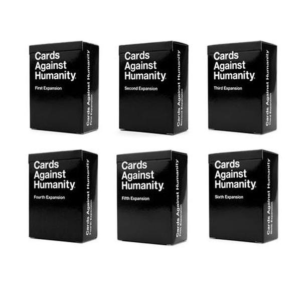 Cards Against Humanity – 1-6 Expansion Sets - NEW
