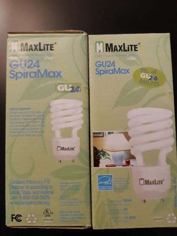 GU24 SpiralMax Bulbs