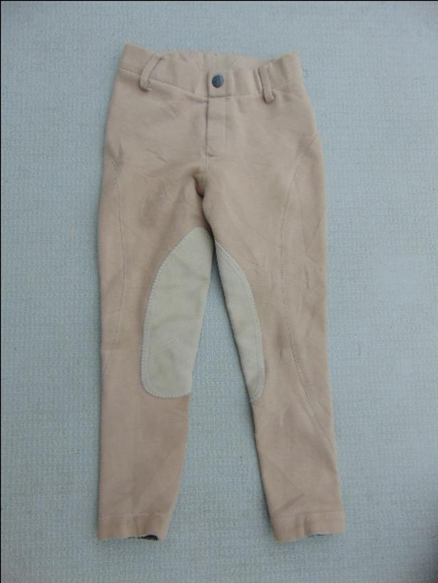 Horseback Riding Equestrian Pull On Breeches Pants Child Size 6 Elation Premium