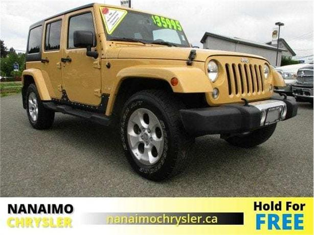 2014 Jeep Wrangler Unlimited Sahara No Accidents Navigation