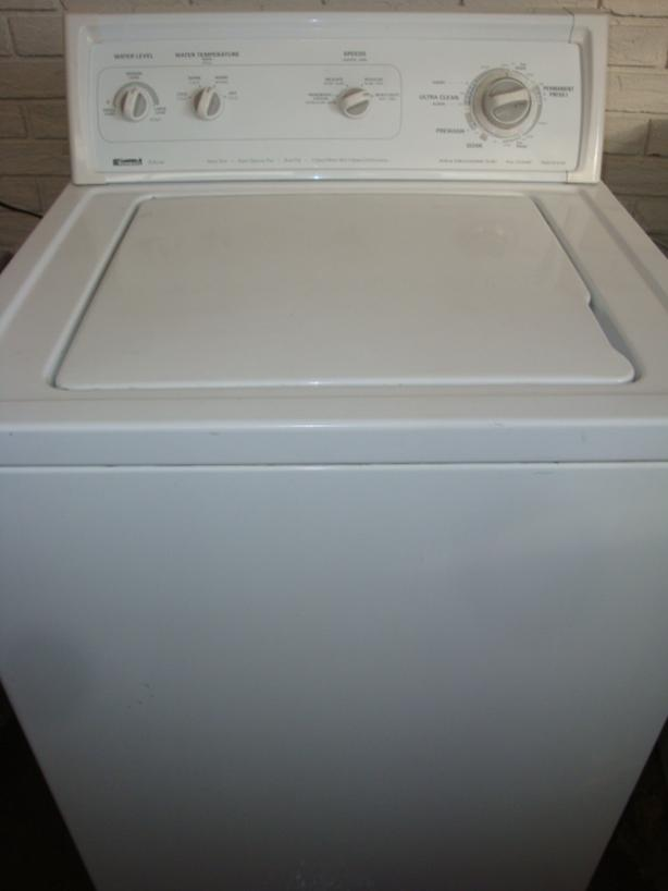 Kenmore Super Capacity Plus heavy duty washer,direct drive motor,