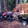 125cc Premium ATV 3 speed with Trailer sold seperately