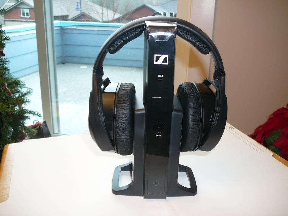 Sennheiser Rs 165 Tv Digital Wireless Headphones Nib West Shore