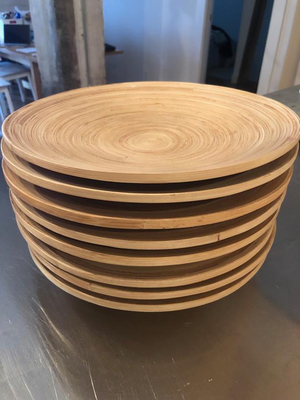 IKEA Bamboo plate (8) Victoria City, Victoria