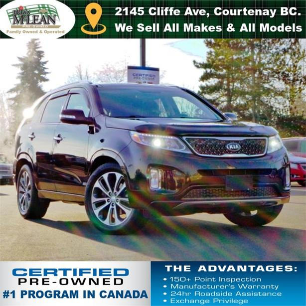 2014 Kia Sorento SX AWD Navigation Sunroof Heated & Cooled Seats