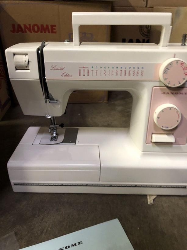 Brand New Janome Model 344 Limited Edition sewing machine