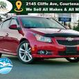 2011 Chevrolet Cruze LTZ Turbo Bluetooth Sunroof Leather Heated Seats