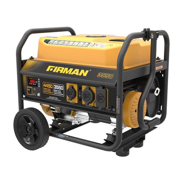 Generator,New, Gas-Powered 4,450 Watt Portable