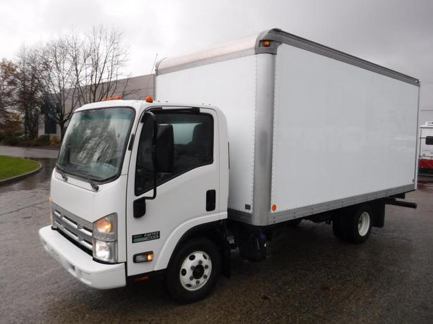 2014 Isuzu NPR Cube Van Diesel 16 foot