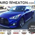 2013 Hyundai Veloster Turbo Low Kms, No Accidents!
