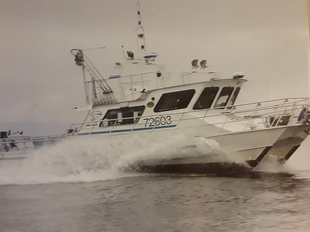 Catamaran Halibut Troller Charter Package - Happy Hooker