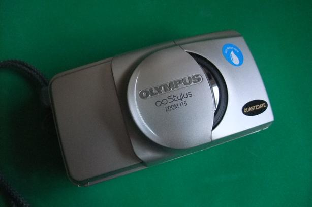 Olympus Infinity Stylus Zoom 115 point and shoot 35mm film camera