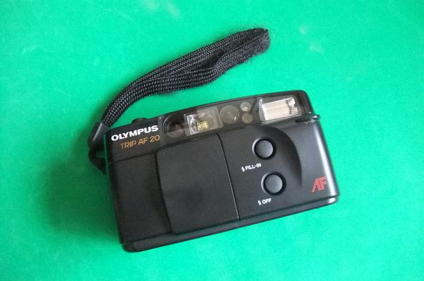 Olympus Trip AF 20 35mm film point and shoot camera