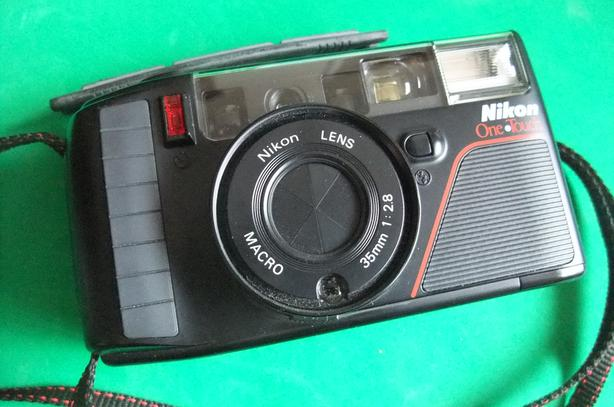Nikon One Touch 35mm film point and shoot camera