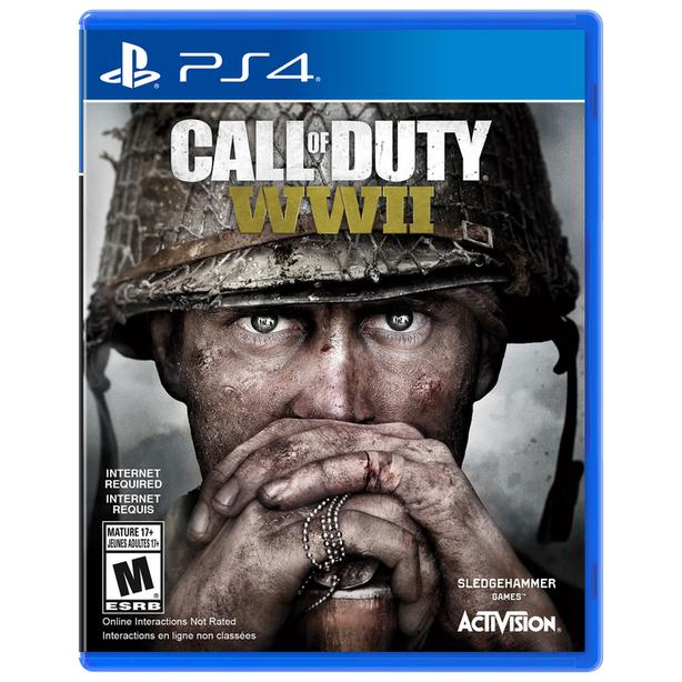 new sealed Call of Duty WWII PS4