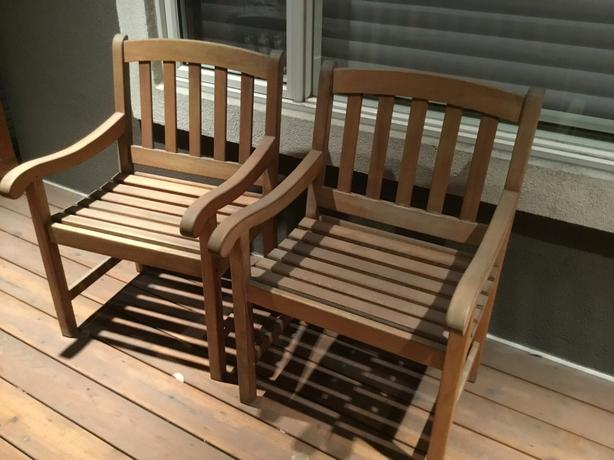 4 Aderack Chairs