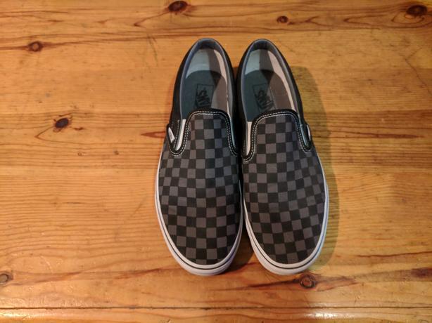 2b5eaf3511 Like new Vans checkered slip ons West Shore  Langford