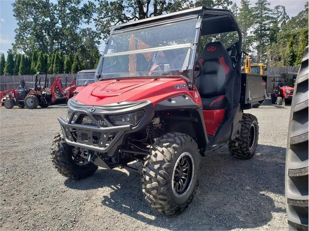 2018 Mahindra Retriever 750 Gas Flexhauler